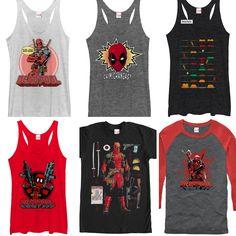 Deadpool cosplay. New arrivals Deadpool Tees.  Tag a #deadpoolmovie fan.