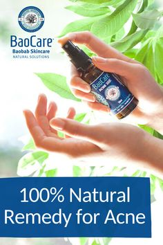 Treat your skin flare-ups using Baobab Oil and 100% Natural Ingredients.   #baocareskincare #baobaboil #naturalcare #acnetreatment #acneremedy #naturalremedies