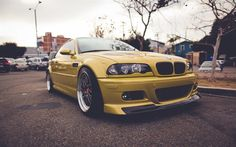 BMW 3, tuning BMW, gold BMW, sports cars, coupes, BMW E46