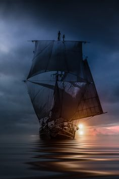 asweetheartbeingnaughty: banshy: Waiting for the Storm | Christian Wig Pirate ship??