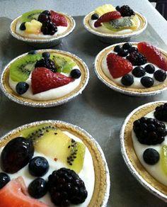 fruit-tartlets