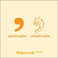Don't cause a catastrophe! Remember, plurals and apostrophes don't always mix! #GetYourCopyRight #yearbook #nyw2013