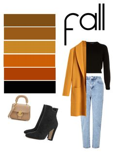 """fall (in) for you"" by deashintasr on Polyvore featuring Helmut Lang, Miss Selfridge and Burberry"