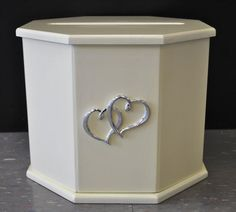 Timber Octagon Wishing Well Card Keeper Box For Wedding Or Engagement
