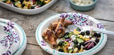 Yum. Blueberry Corn Salad...perfect to compliment chicken on the grill