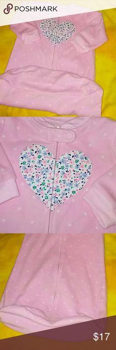 Carter's warm pokadot heart sleepwear Pokadot heart sleepwear Carter's Other