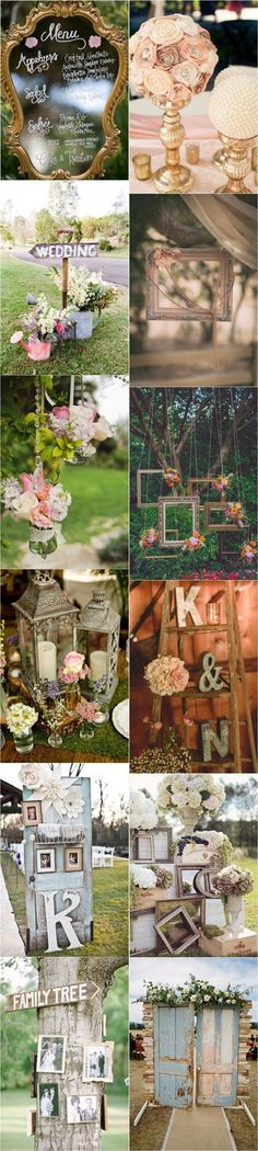 25 Genius Vintage Wedding Decorations Ideas | http://www.deerpearlflowers.com/25-genius-vintage-wedding-decorations/: