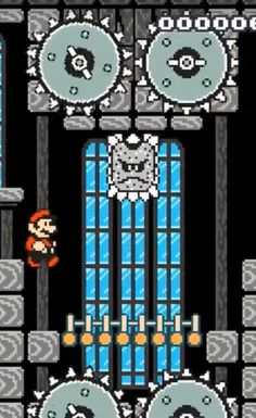 Super Mario Maker | SMB3 Thwomp Decoration