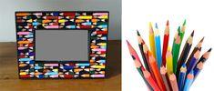marco con colores