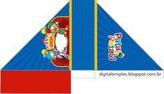 Kit de Personalizados Gratuito para Aniversário Tema Patati Patatá para Imprimir.