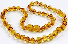 Baltic Amber Baby Teething Necklace with by BalticAmberGiftShop, $12.99