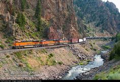 RailPictures.Net Photo: BNSF 6572 BNSF Railway GE ES44C4 at Hot Sulphur Springs, Colorado by Nick DAmato (Diamond D)