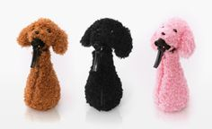 Poodle Dress-Up Spray Bottle Covers Make Cleaning Cuter    ---  from InventorSpot.com --- for the coolest new products and wackiest inventions.