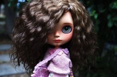 NIA  Nia have light tan skin, beautiful golden brown mohair reroot made by me, freckles on nose and cheeks ^_^ She will love you and take care of