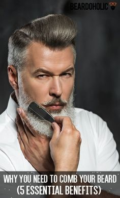 Why You Need To Comb Your Beard (5 Essential Benefits) From beardoholic.com