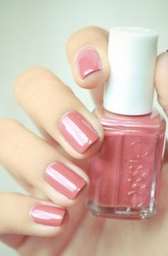 All tied up - Essie nail color