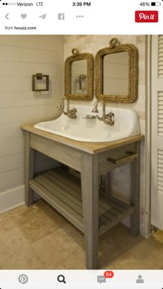 Superbe Brockway Sink With Stand