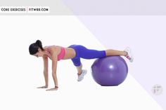 A stability ball is a must have for every home gym as they add a wide variety to your exercise routines. They also make simple bodyweight exercises such as the crunches and push-ups more fun and challenging. Here's a list of 30 different stability ball exercises for a stronger core.