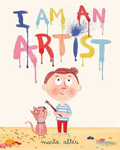 I am an Artist. Geared for younger children, but with its connections to famous … I am an Artist. Geared for younger children, but with its connections to famous artists, could be used for older children. Paintings Famous, Famous Artists, Oil Paintings, Art Books For Kids, Art For Kids, Kindergarten Art, Preschool Art, Love Illustration, Illustration Artists