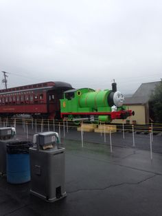 255: A day out with Percy the train!