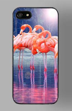 Club Flamingo iPhone 5 Case by ZERO GRAVITY by Zero Gravity