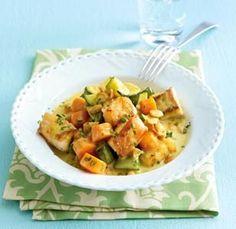 Gemüse-Fisch-Curry