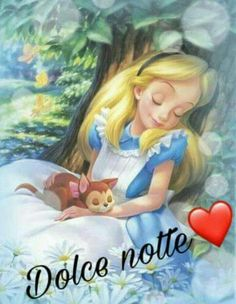 Dolce notte Sunday Morning Quotes, Good Morning, Good Night Sister, Evening Quotes, Good Night Blessings, Italian Quotes, Happy Paintings, Good Day, Sweet Dreams