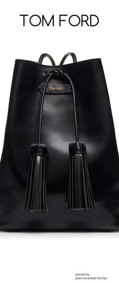 6d20b0e67a078 Tom Ford Suede Small Tassel Bucket Bag, Black 2017 Fashion Design and  Wearable Art, Cross-Cultural Dialogue, Femininity