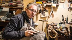 The Fine Art of Shoe Making: My name is Roberto Ugolini and I'm the owner of Roberto Ugolini Bespoke Shoes. The Fine Art of Shoe Making: I started in 1995 with a cobbler shop. The Fine Art of Shoe Making: I use the old system – foot on paper. After the trial shoe, we move on to making the real pair
