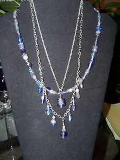 3 necklaces in one awesome colors by crste3designs on Etsy, $18.00