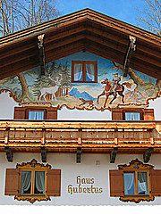 Panoramio - Photo of Haus-Malerei in Reit im Winkl / Bayern