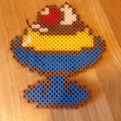 Pudding perler beads by misshubley