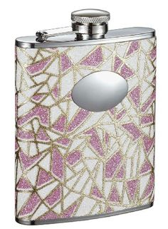 Visol Decadence Pink Glitter Liquor Flask 6Ounce >>> Visit the image link more details. (This is an affiliate link) #LiquorWineFlasks