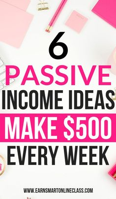 Did you know that these passive income streams can earn you residual income for life? Well, now you know! Here is a list of amazing passive . Earn Money From Home, Earn Money Online, Make Money Blogging, Way To Make Money, Money Fast, Earning Money, Investing Money, Money Tips, Money Hacks