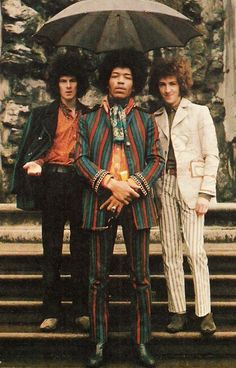 The Jimi Hendrix Experience (Noel Redding, Jimi, Mitch Mitchell)