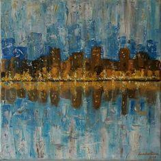 After Rain by Zuzana Lambertova (acrylic on canvas)