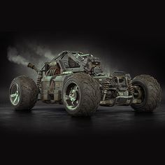 Buggy for Apocalypse, Alexandr Novitskiy on ArtStation at https://www.artstation.com/artwork/buggy-for-apocalypse