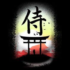 Samurai Counrty T Shirt By Clingcling Design By Humans Samurai Tattoo, Samurai Art, Samurai Warrior, Graphic Tees, Graphic Design, Japanese Art, Tank Man, Long Sleeve Tees, Art Prints