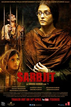 Sarbjit is an upcoming Indian biographical drama film directed by Omung Kumar. The film stars Aishwarya Rai Bachchan and Randeep Hooda in lead roles, with Richa Chadda and Darshan Kumar essaying supporting roles in the film.The film will be narrated through the perspective of Sarabjit Singh's sister Dalbir Kaur played by Aishwarya Rai. The shooting commenced in December and is slated to release on 20th May 2016 and will also be screened at the Cannes Film Festival 2016
