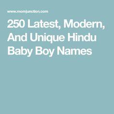 Modern hindu baby boy names kannada