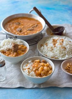 Middle East Food, Middle Eastern Dishes, Middle Eastern Recipes, Chicken And Beans Recipe, Chicken Recipes, Iranian Dishes, Iranian Food, White Bean Recipes, Essen