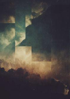 Fractions A20 #displate #metal #print #artprint #metalprint #wallart #homedecor #digital #abstract #landscape