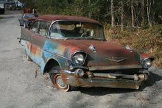 Photo by: Lori Harris Rusty the Car