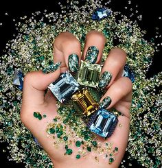 GLITTER #nails #nailart #nailpolish