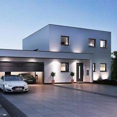 Dream Home Design, Modern House Design, Modern Architecture House, Architecture Design, Philippines House Design, Philippine Houses, Double Storey House, Luxury Homes Dream Houses, Dream House Exterior