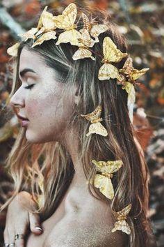 Gold Rush Fairy Crown