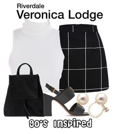 Designer Clothes, Shoes & Bags for Women Tv Show Outfits, Teen Fashion Outfits, Girly Outfits, Pretty Outfits, Cute Outfits, Veronica Lodge Fashion, Veronica Lodge Outfits, Riverdale Veronica, Riverdale Fashion