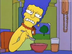 MRW the edibles start to kick in. Simpsons Meme, The Simpsons, Simpson Wave, Cartoon Profile Pics, Futurama, Reaction Pictures, Funny Faces, Meme Faces, Caricature