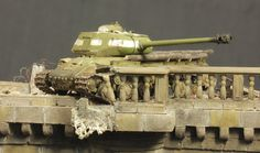 Dioramas and Vignettes: Tanks over Spree, photo #16