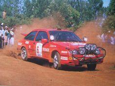 The third colour....Stig Blomquist rally Safari 1987
